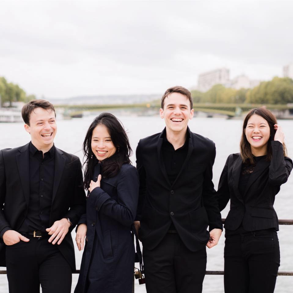 quatuor Hermes par Lyodoh Kaneko